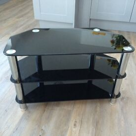 Television glass unit nearly new £20