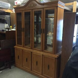 Table $350.   Cabinet $350. Or take the pair $600  Kingston Kingston Area image 1