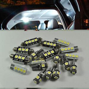 Error-Free-16-Lights-SMD-LED-Interior-Kit-4-Mercedes-Benz-C-Class-W204-2008-2013