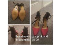Ladies High Heels - sizes 4 & 5 - All brand new!!!!