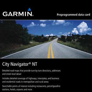 GARMIN City Navigator NT Street Map 2015 SD card North America USA Canada Mexico