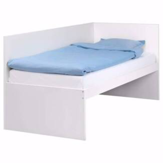 IKEA - FLAXA WHITE SINGLE BED / DAYBED