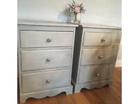 X2 Shabby chic side table
