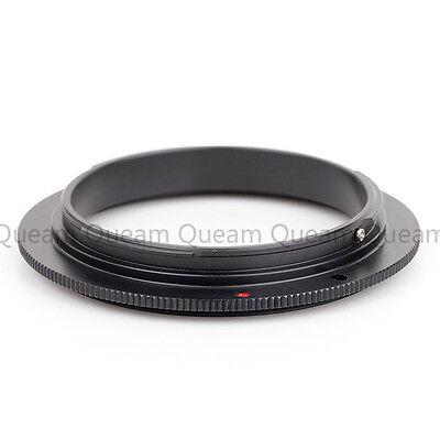 (US Pixco 58mm Macro Reverse Ring For Canon EOS 5D Mark III 7D 600D 70D 700D)