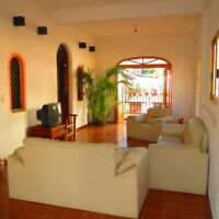 Steps to Beach, No Hill to Climb, Large home in Puerto Vallarta