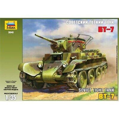 Zvezda 3545 - Soviet Light Tank BT-7