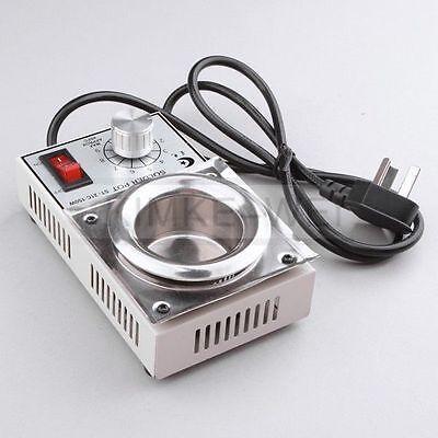 220v Solder Pot Soldering Desoldering Bath 50mm 200-450