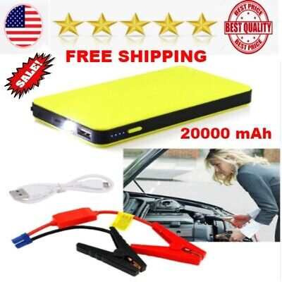 Portable Mini 20000mAh Car Jump Starter Engine Battery Charger Power Bank BEST (Best Auto Jump Starter)