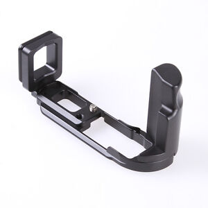 Hand Grip Quick Release L Plate Bracket For Olympus OMD E-M10