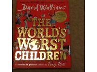 The Worlds Worst Children, David Walliams book (like new)