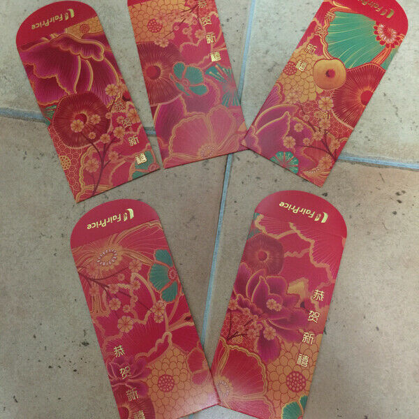 BN Fairprice 2020 Red Packet