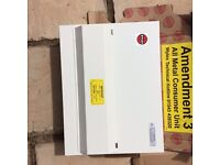 Electric smoke alams/ consumer unit/ fuse board
