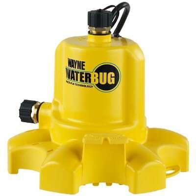 Wayne Waterbugtrade - 22.5 Gpm 34 Submersible Utility Pump W Multi-flo...