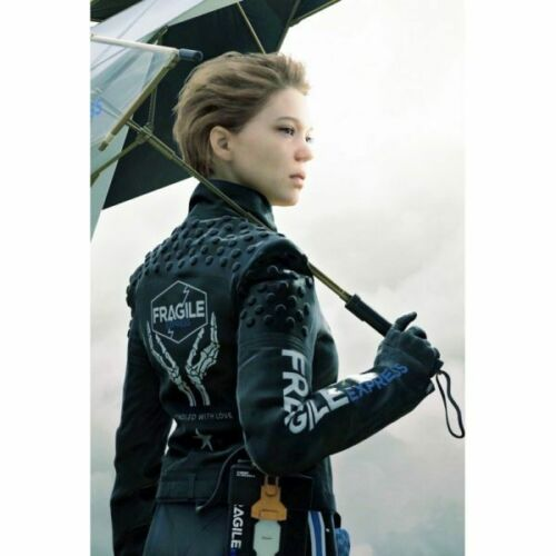 Death Stranding Gamers Unisex Kojima Lea Seydoux  Fragile Express Jacket