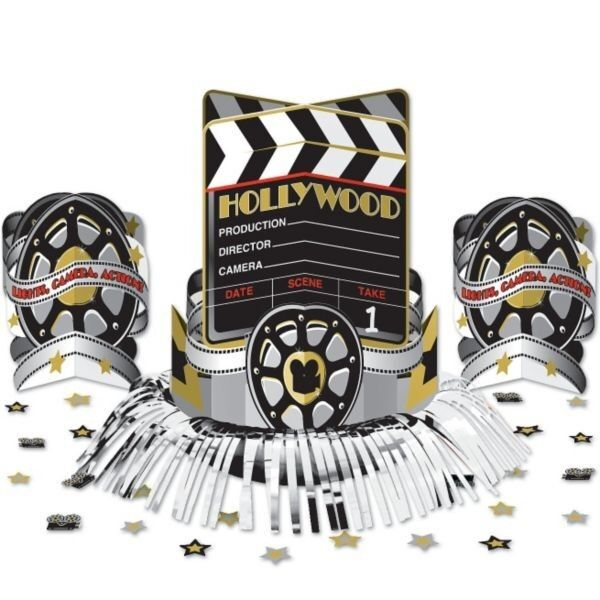 Hollywood 'At The Movies' Table Decoration Kit Centerpiece Oscars Night Party