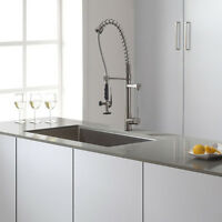 BRAND NEW MOEN FAUCET KITCHEN & WASH ROOM BATHROOM VANITY