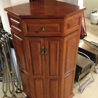 Corner Unit - Two Door - Solid Wood - Great Condition