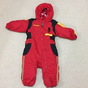Columbia size 18 months snow suit