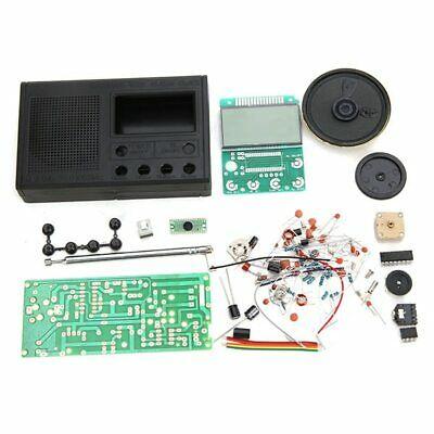High Quality DIY FM Radio Kit Electronic Learning Assemble Suite Parts For