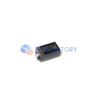 200pcs Mdd Rs1m Sma Do-214ac 1a1000v Fast Recovery Diode