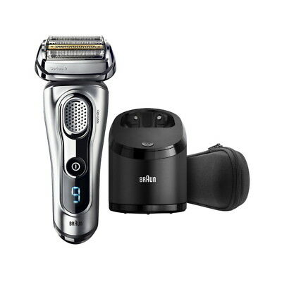 Braun 9290CC Series 9 Men's Wet&dry Rechargeable Electric Shaver Silver