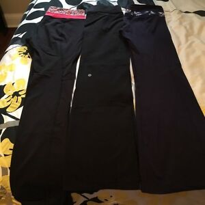 Lululemon Pants - various styles - sizes 8 & 10