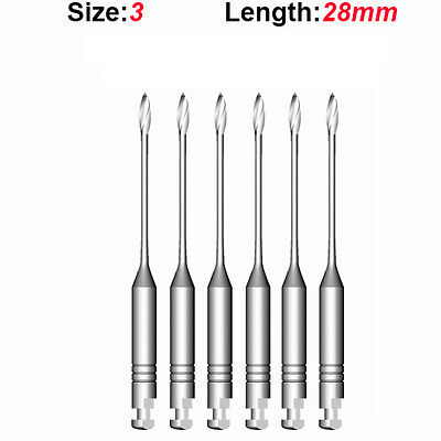 Top Quality Endo Dental Endodontic Gates Glidden Drills 3 28mm 6pkg