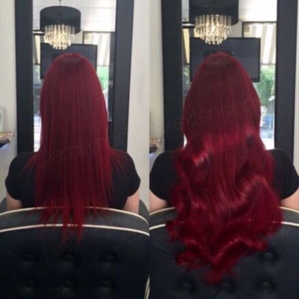 Mobile Hairdresser Based In Bedfordshire La Weavehair Extensions
