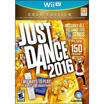 Ubisoft Nintendo Just Dance 2016 Gold Edition For Wii U B...