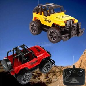 Remote control RC Jeep Off-road vehicle Car kids Toy Gift