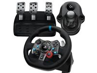 Logitech G29 Gaming Steering Wheel PC PS4 PS3