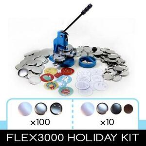 """Flex 3000 3"""" Hobby Button Maker ONLY 2 LEFT! from PPP Buttons!"""