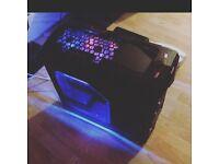 Fast Quad Core 4.0ghz 4K Capable Gaming PC desktop Computer