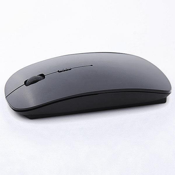USB Wireless Mouse Mice 2.4G Receiver Super Slim Mouse BLACK#00BK8141