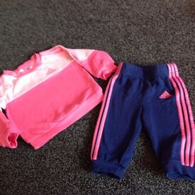 adidas tracksuit age 3-6 months