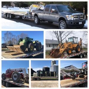 Trailer Towing Flatbed Float Service Equipment