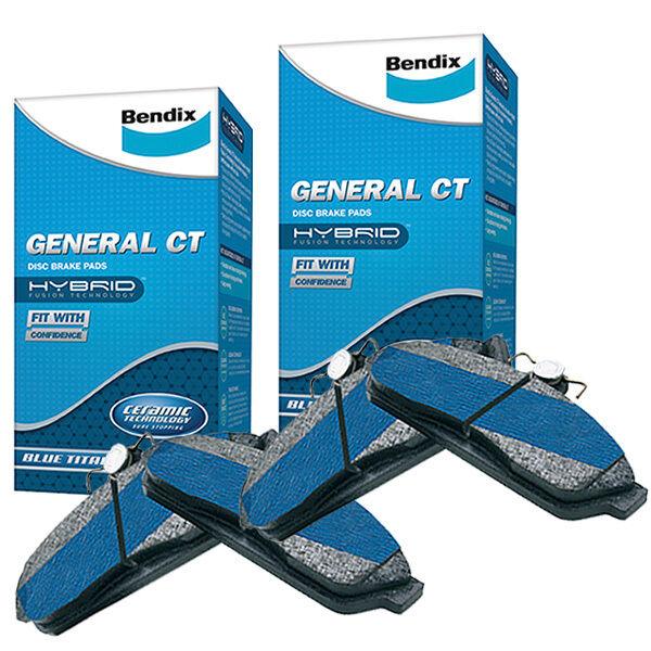 Bendix GCT Front and Rear Brake Pad Set DB1353-DB1354GCT