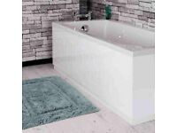 Tongue & Groove Bath Panel White 1700mm Front...new