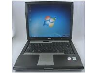 DELL LATITUDE D530 LAPTOP INTEL CORE 2 DUO 2GHZ 80GB HDD 2GB RAM WIN 7