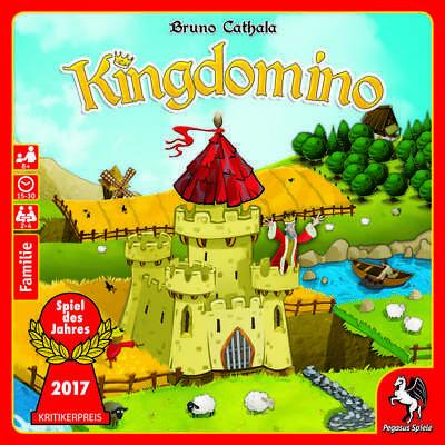 Kingdomino, Neuauflage: Spiel des Jahres 2017