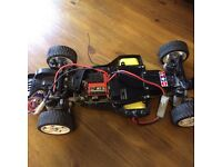 Rc car nitro and battery