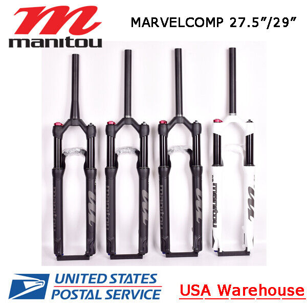 """Manitou Machete 27.5""""29"""" 100mm Fork Straight Tapered Manual/Remote Marvel Comp"""