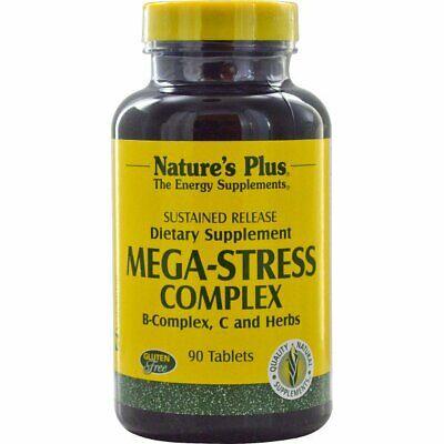 € 316,27 / kg Mega-Stress Complex (90 Tablets) - Nature's Plus