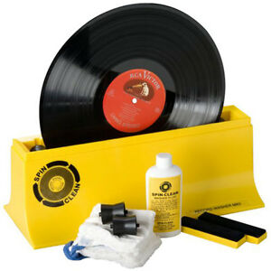 Spin-Clean Record Washer System MKII MK2 Vinyl Cleaning Washing Easy Starter Kit
