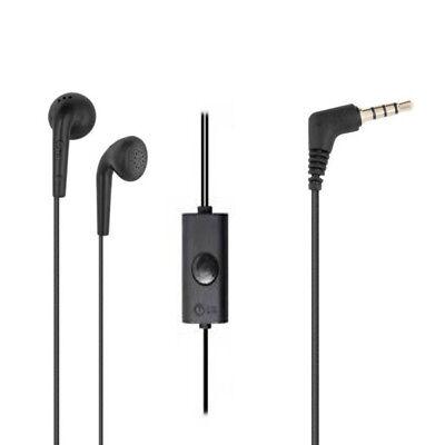 Original LG Handy Headset f LG G3 Kopfhörer mit Microfon 3,5mm Anschluss SCHWARZ