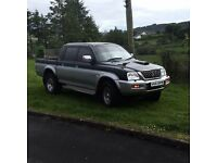 2002 Mitsubishi l200 full years mot