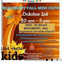 OCT. 1st Mini -Expo and Trade show Beaumont Fundraiser