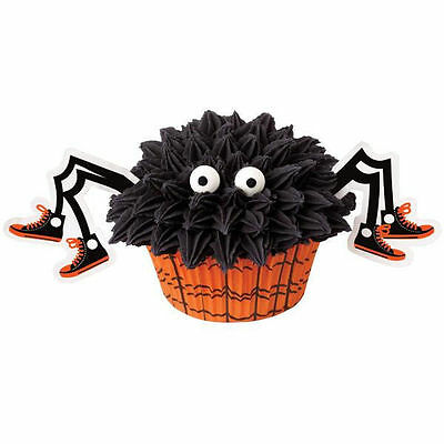 Spider Halloween Cupcake Decorating Kit from Wilton #0382 - NEW - Halloween Cupcakes Decorating