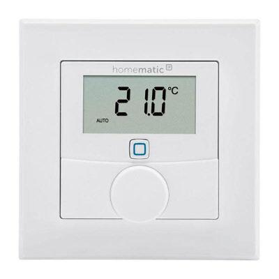 Homematic EQ-3 HMIP Wandthermostat mit Luftfeuchtigkeitssensor Smart-Home