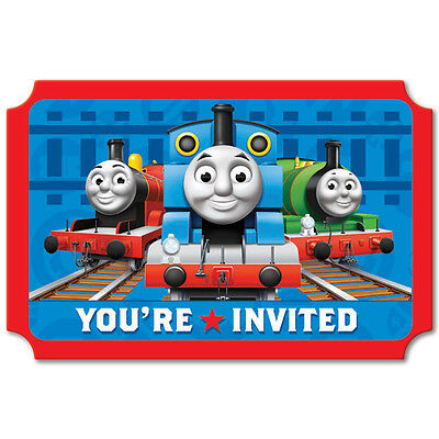 Thomas & Friends Invitations 8ct with Envelopes, Seal and Save the Date Stickers](Thomas And Friends Invitations)